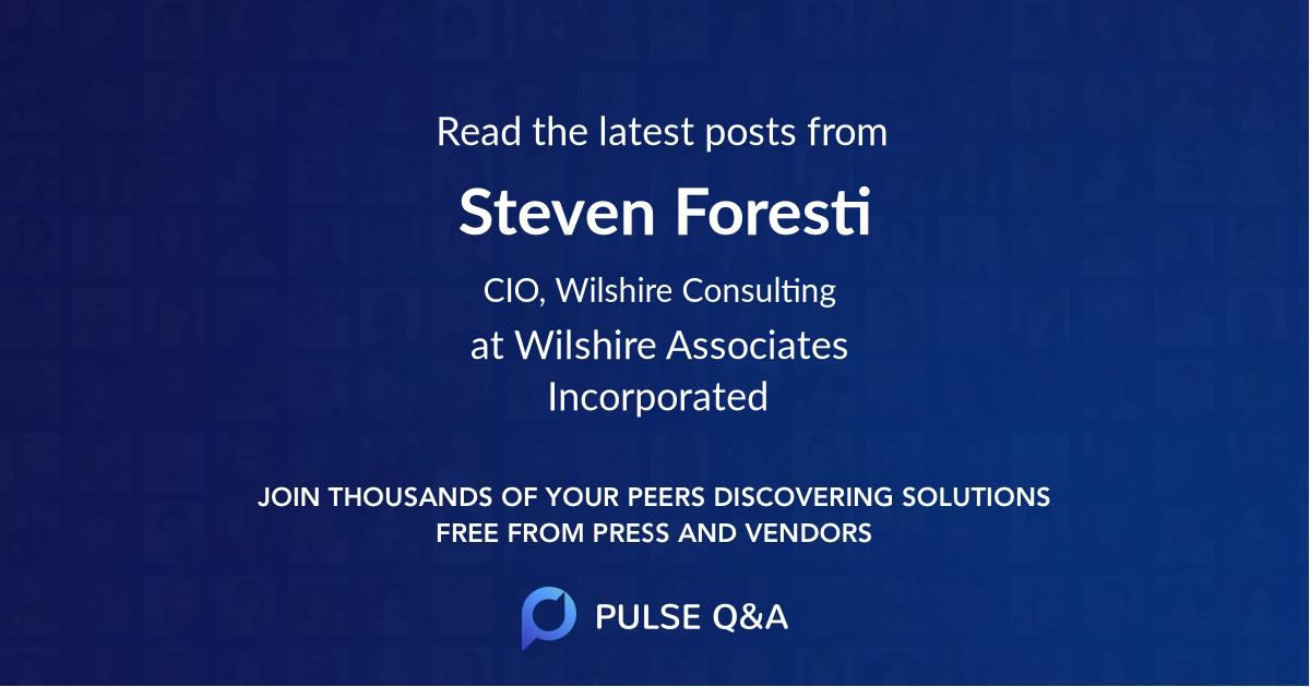 Steven Foresti