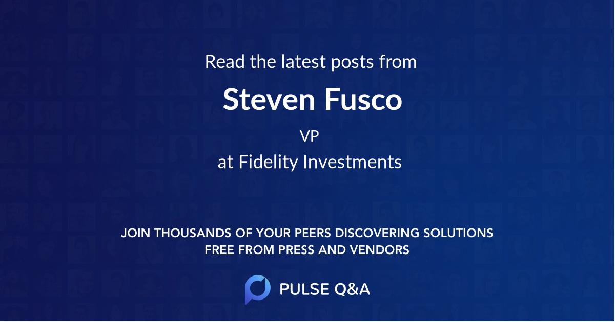 Steven Fusco