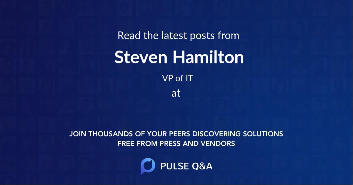 Steven Hamilton