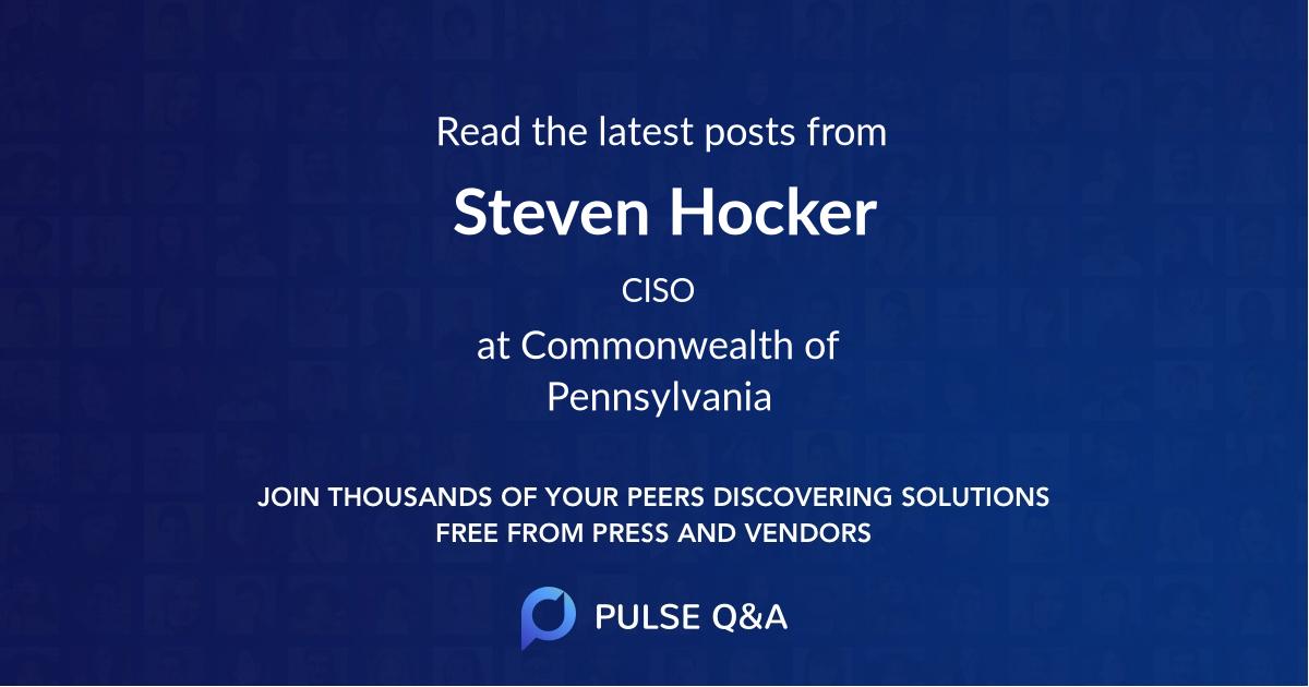 Steven Hocker