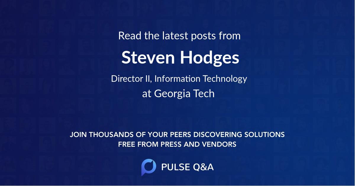 Steven Hodges