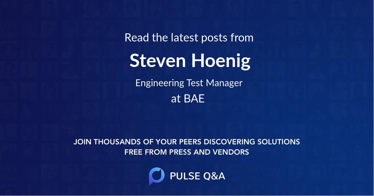 Steven Hoenig
