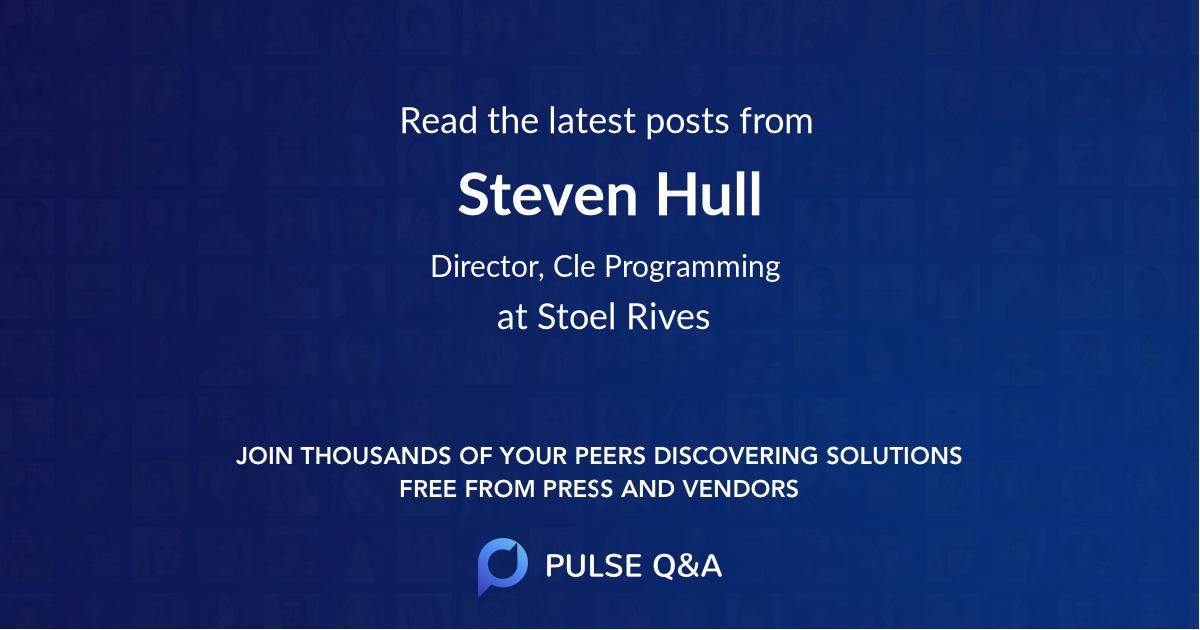 Steven Hull