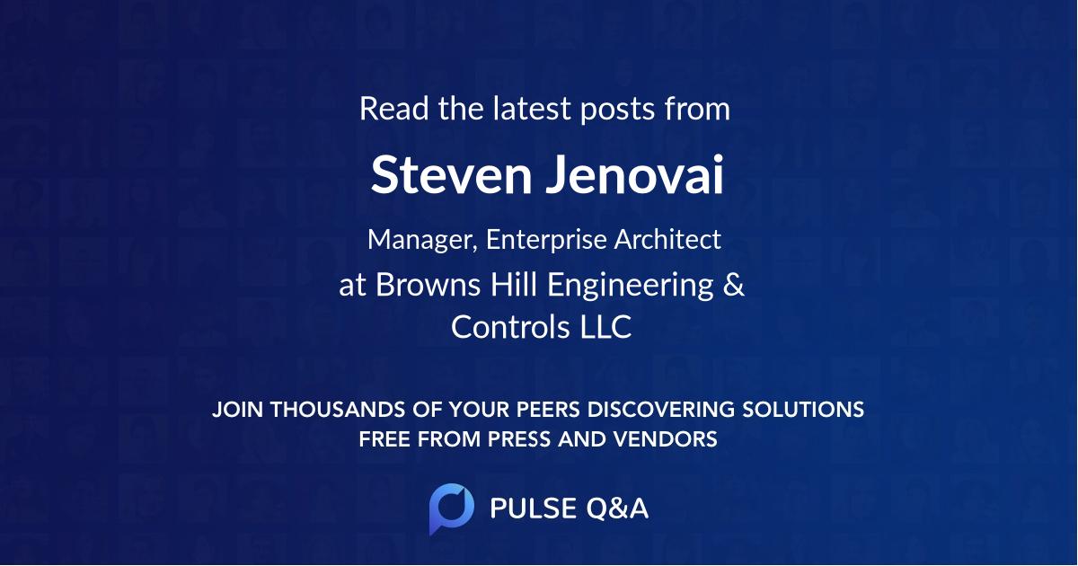 Steven Jenovai