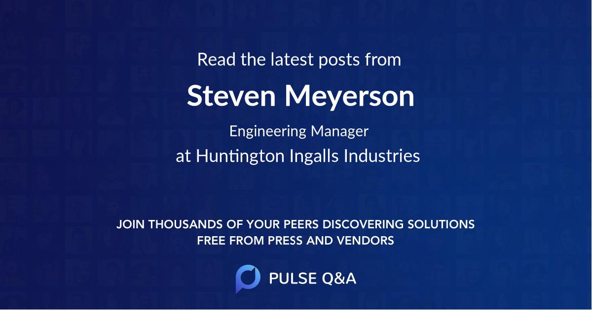 Steven Meyerson