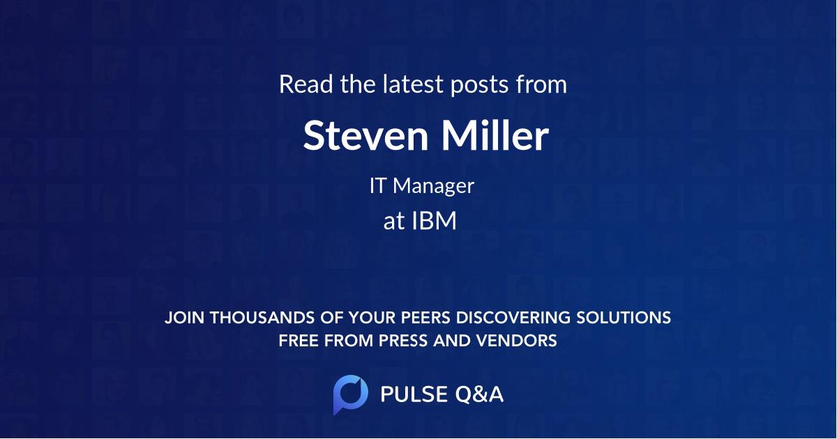Steven Miller