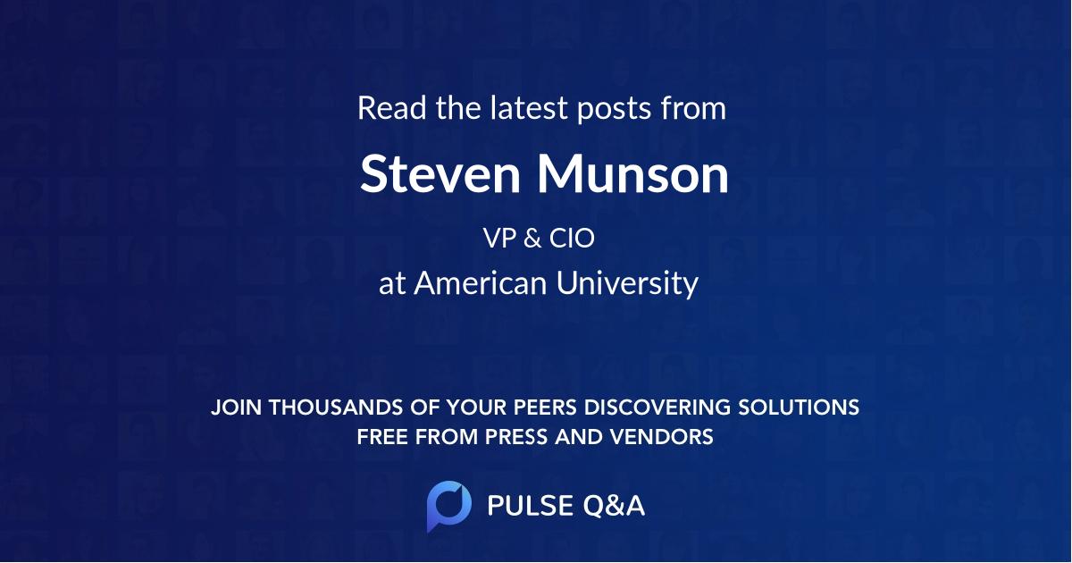 Steven Munson