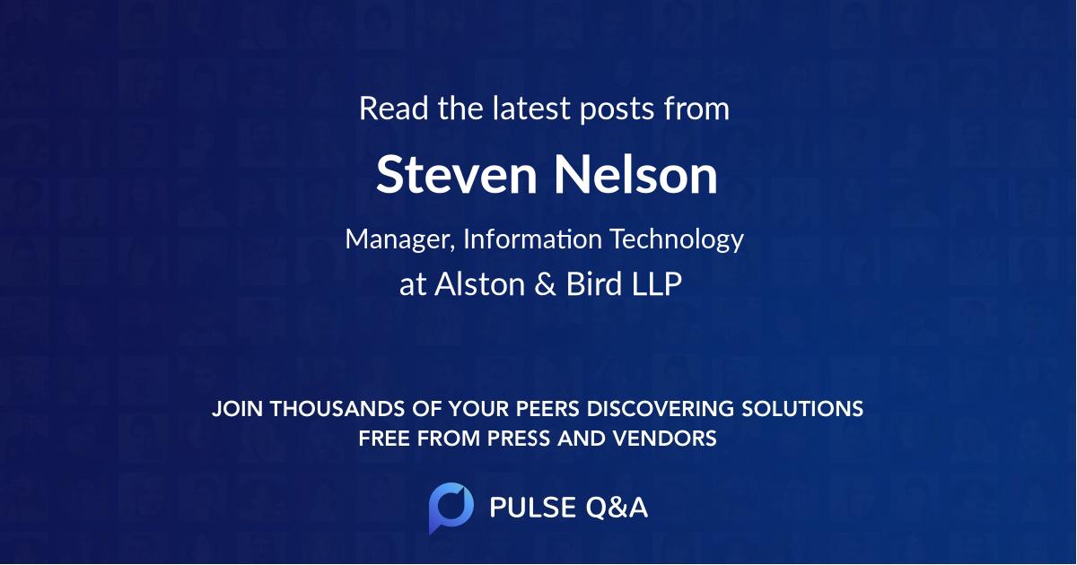 Steven Nelson