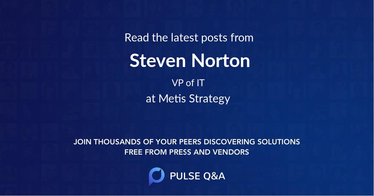 Steven Norton