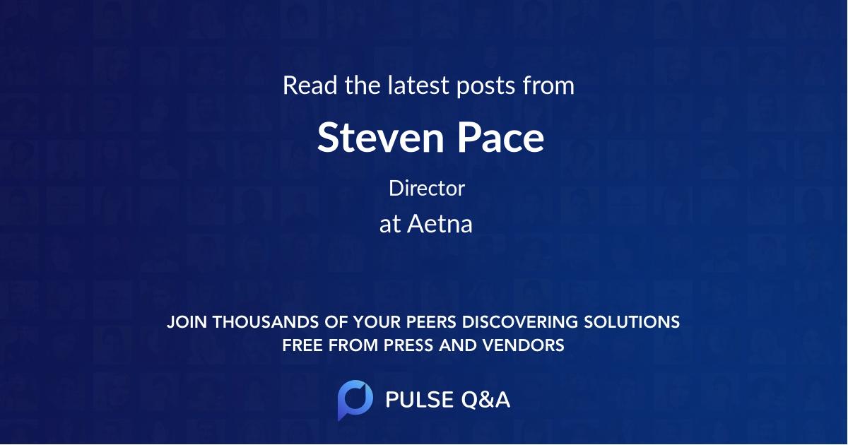Steven Pace