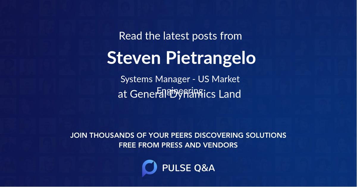 Steven Pietrangelo
