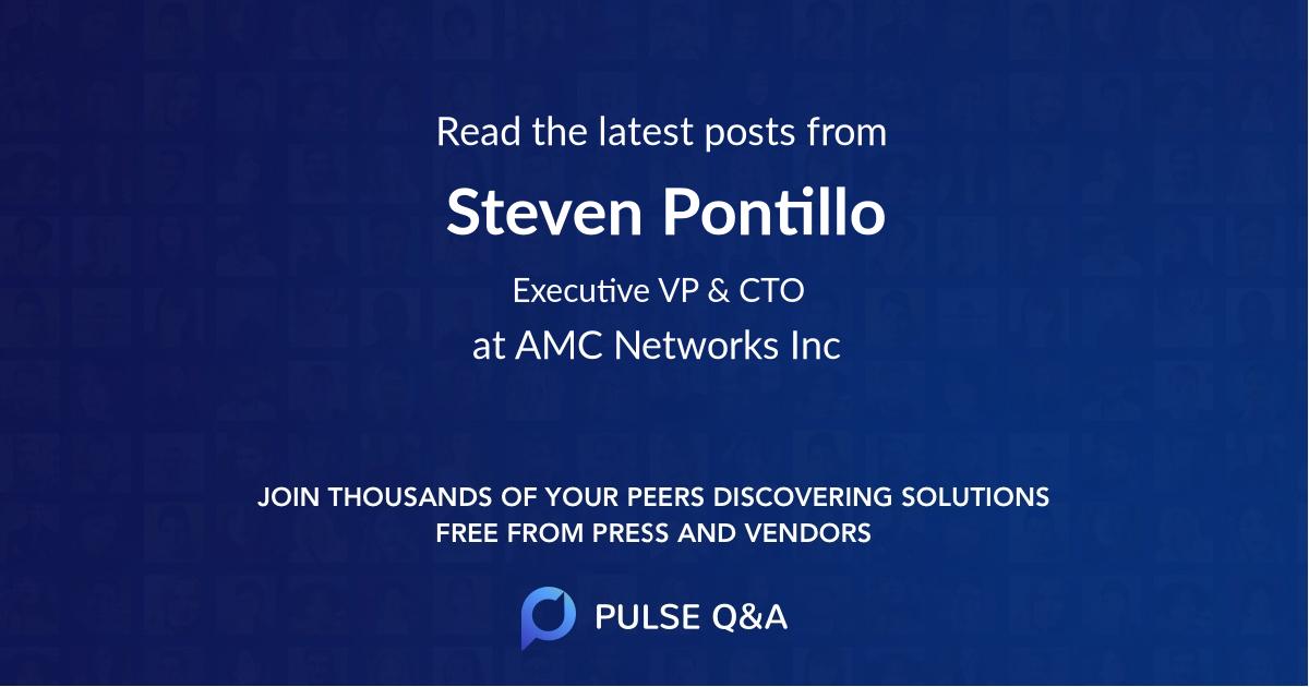Steven Pontillo