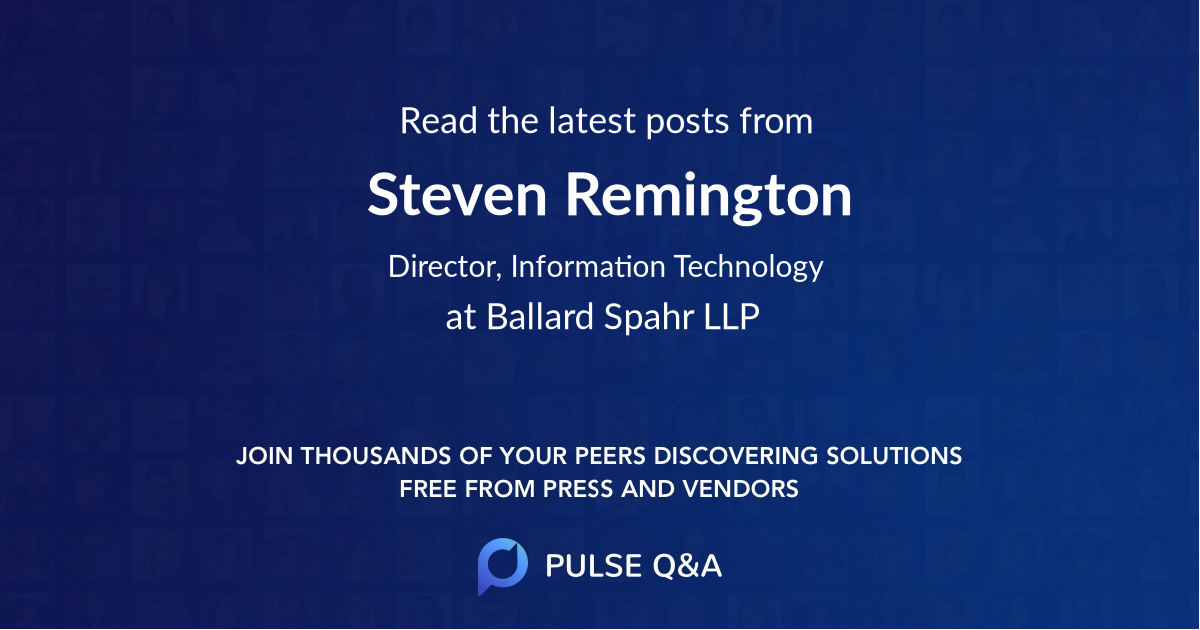 Steven Remington