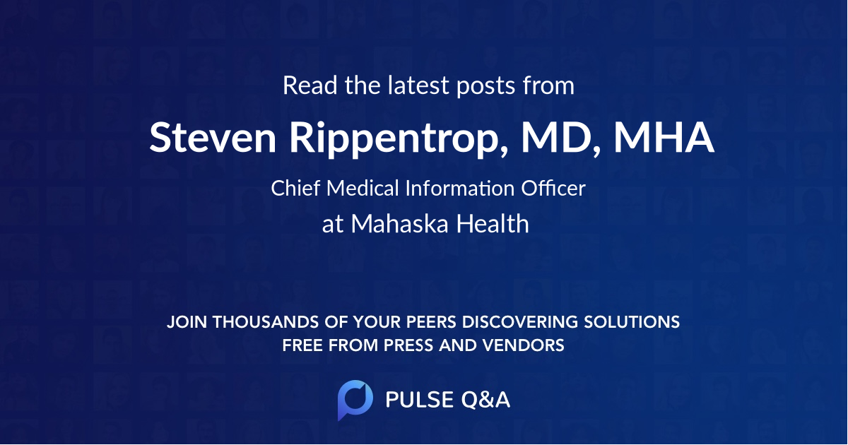 Steven Rippentrop, MD, MHA