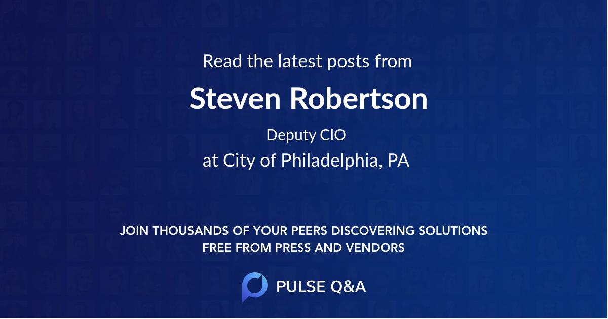 Steven Robertson