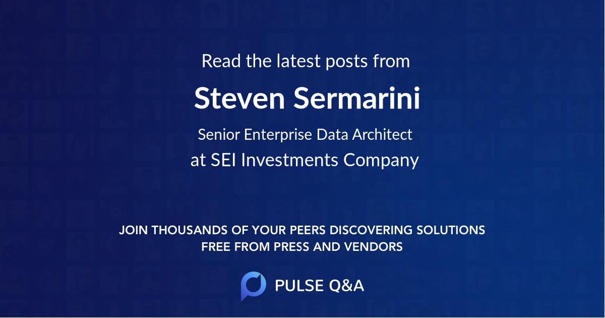 Steven Sermarini