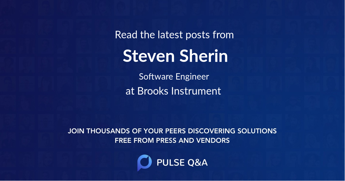 Steven Sherin