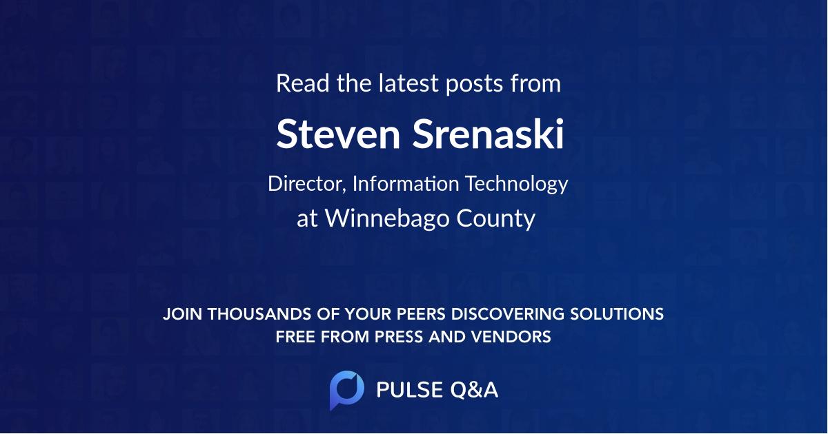 Steven Srenaski