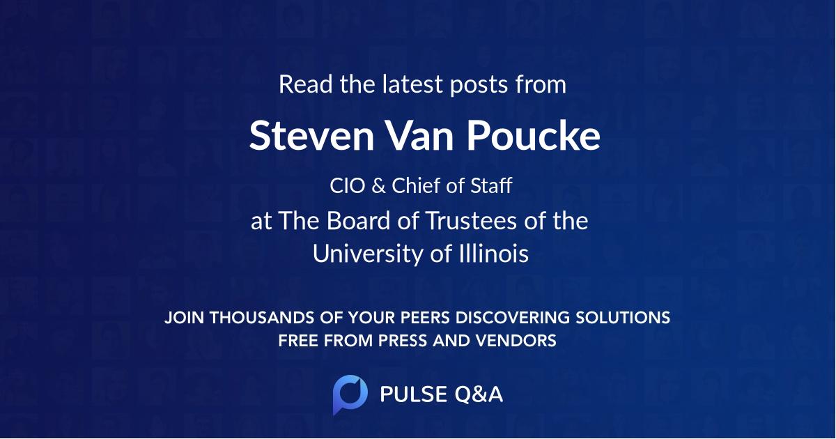 Steven Van Poucke