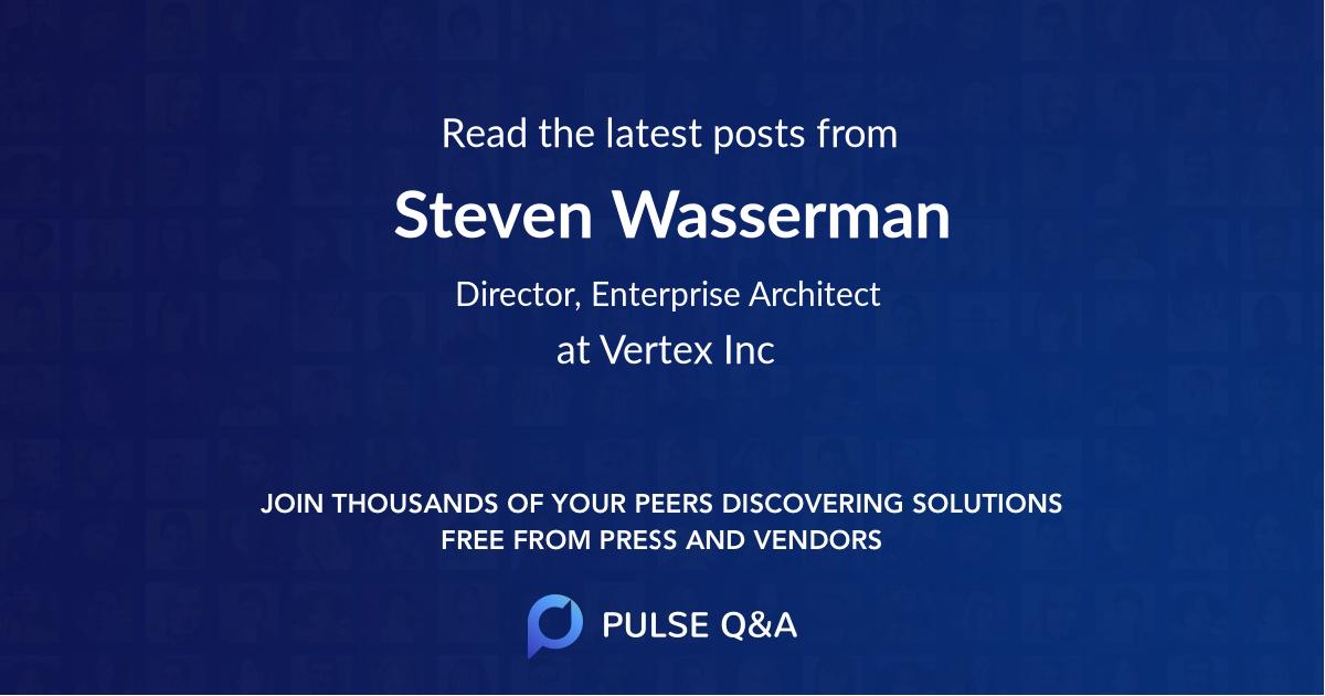 Steven Wasserman