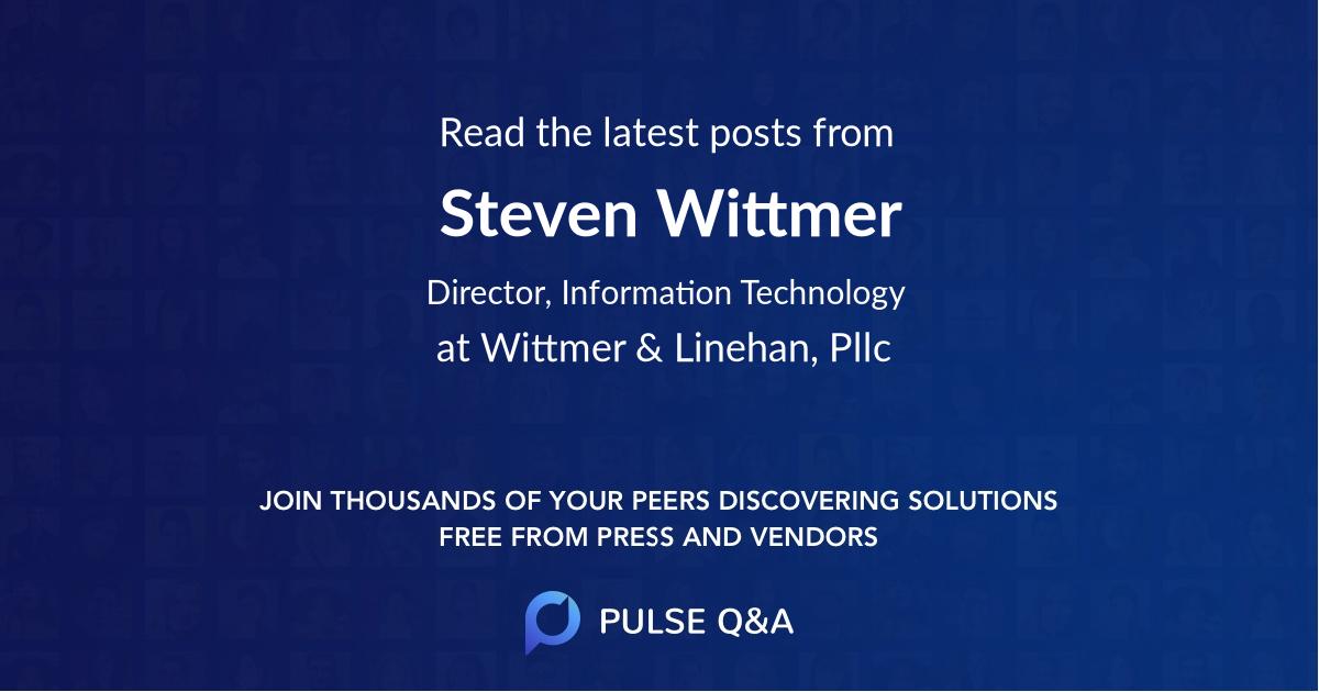 Steven Wittmer