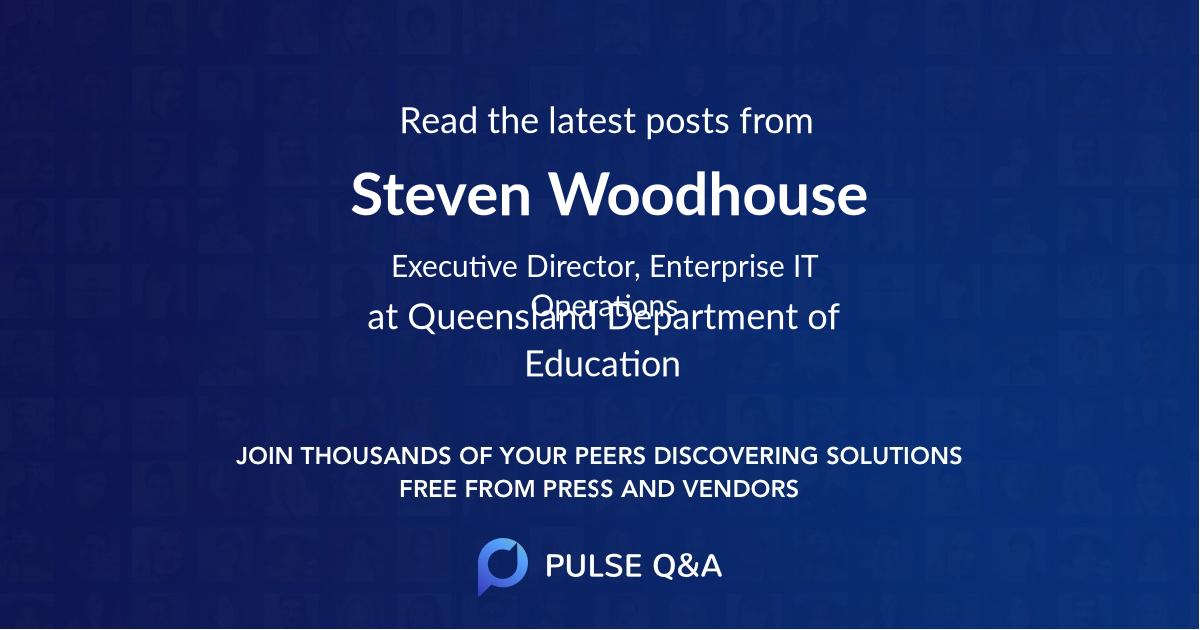 Steven Woodhouse
