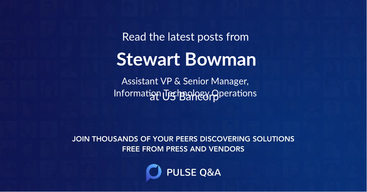 Stewart Bowman