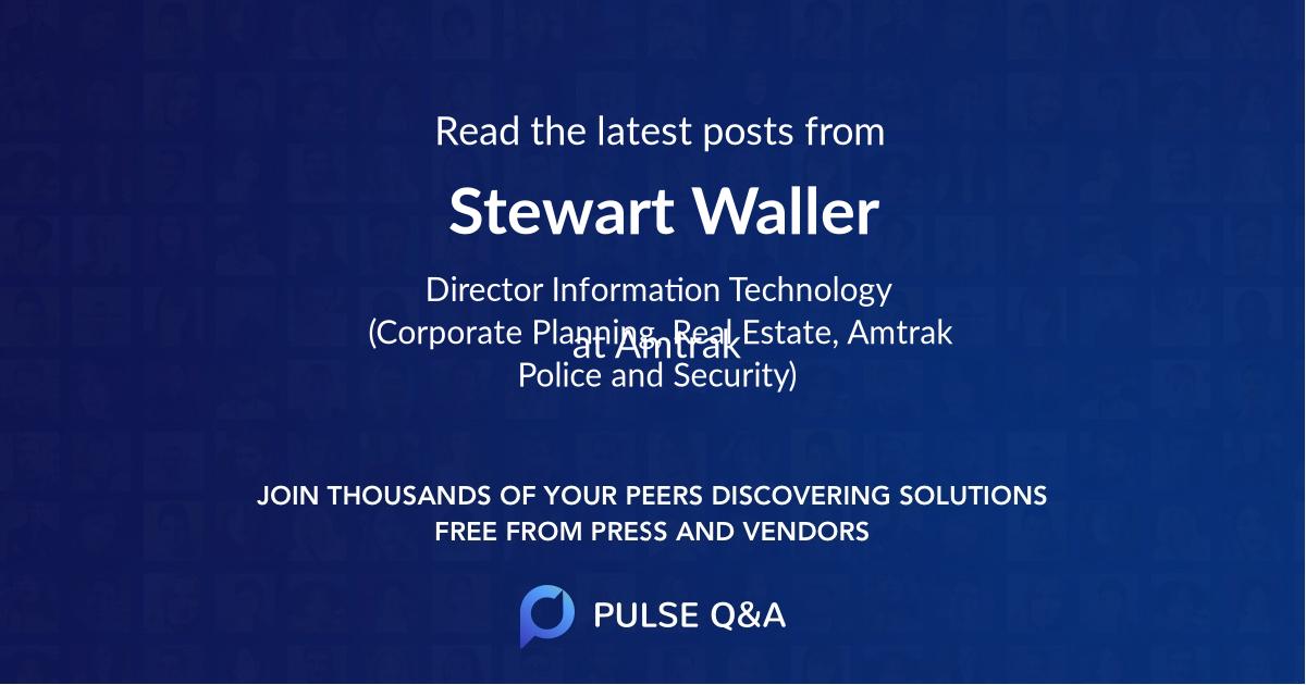 Stewart Waller