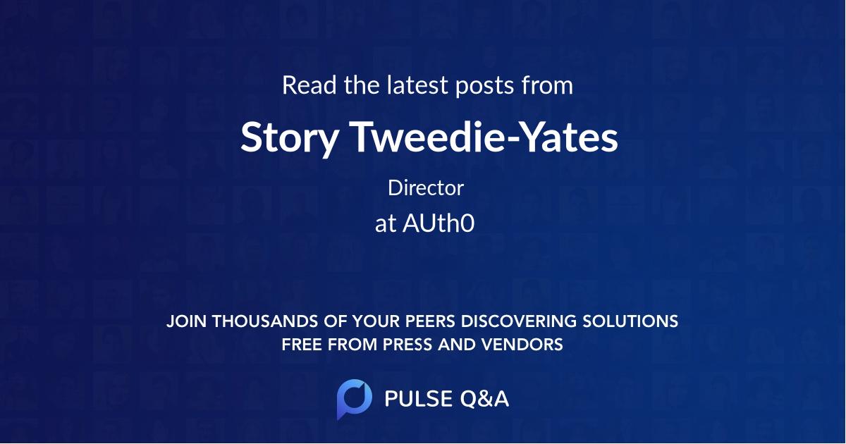 Story Tweedie-Yates
