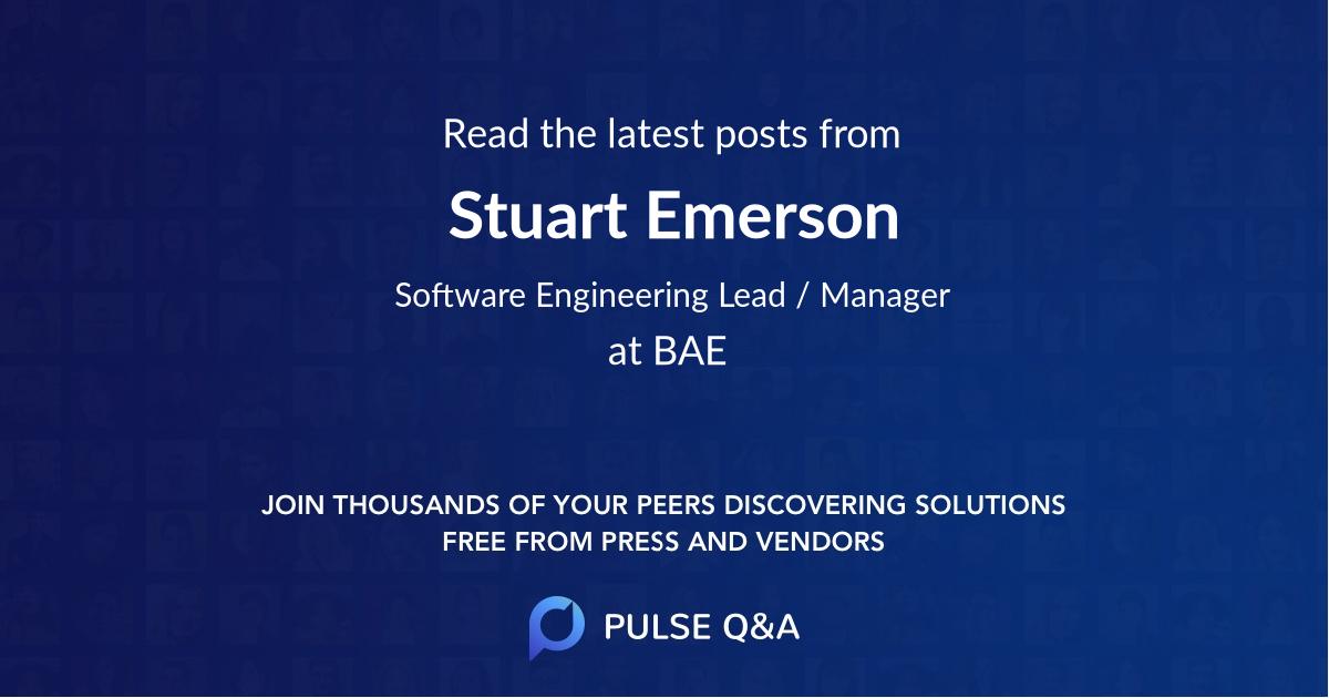 Stuart Emerson