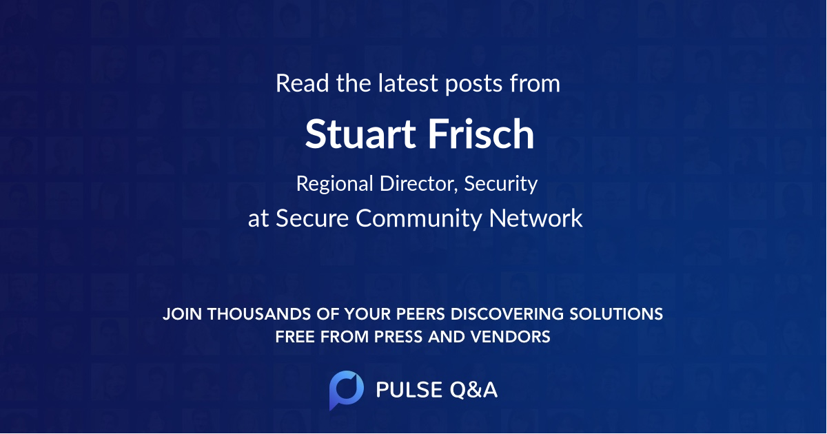 Stuart Frisch