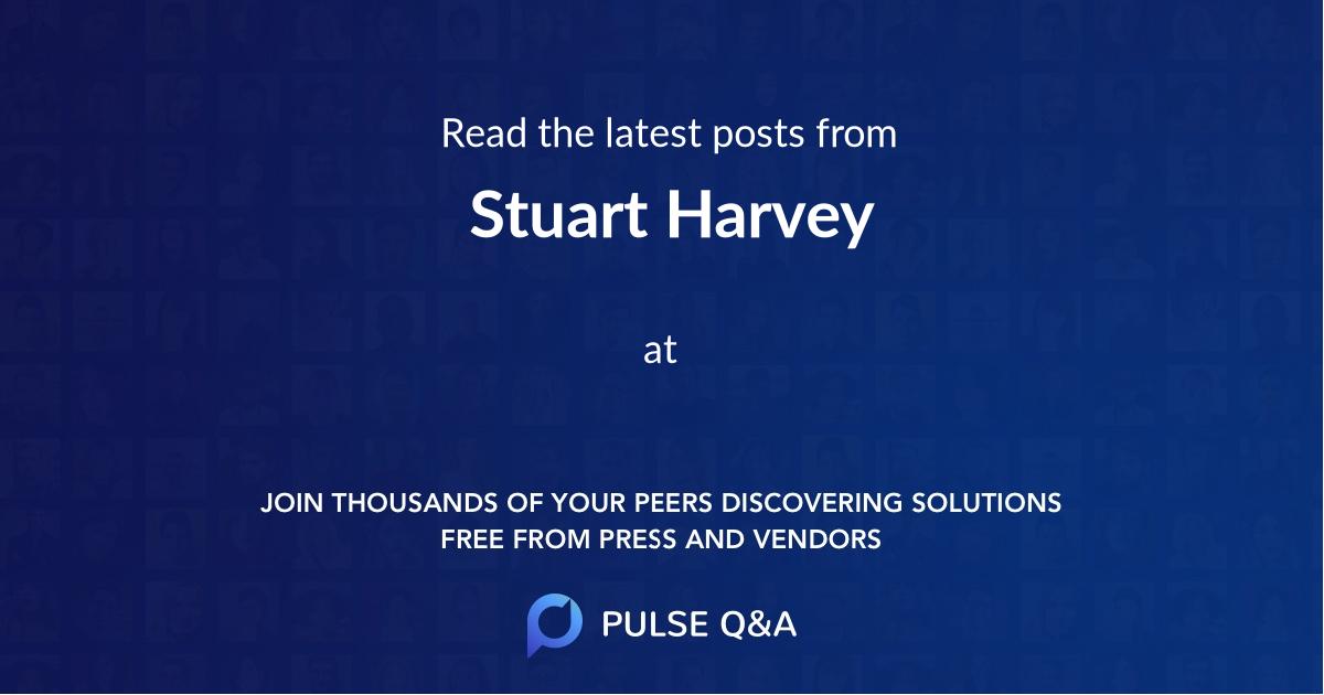 Stuart Harvey