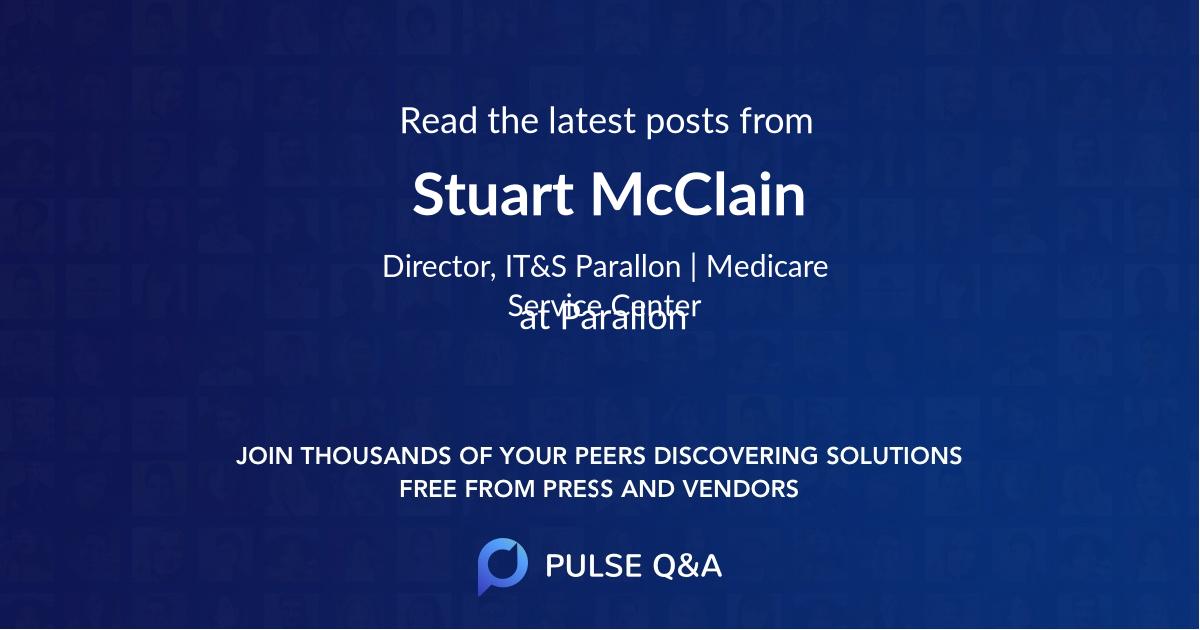 Stuart McClain