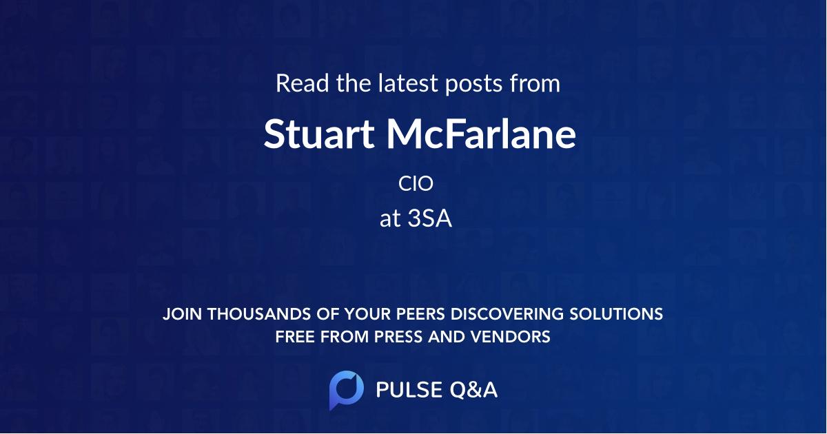 Stuart McFarlane
