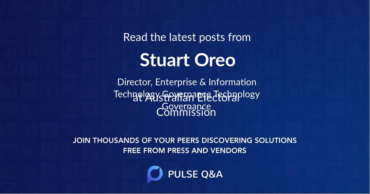 Stuart Oreo