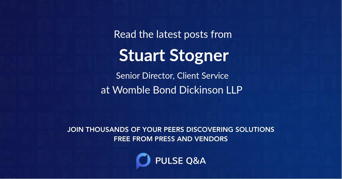 Stuart Stogner