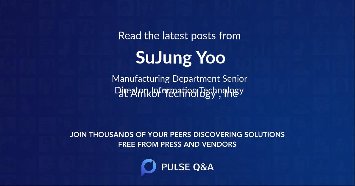 SuJung Yoo