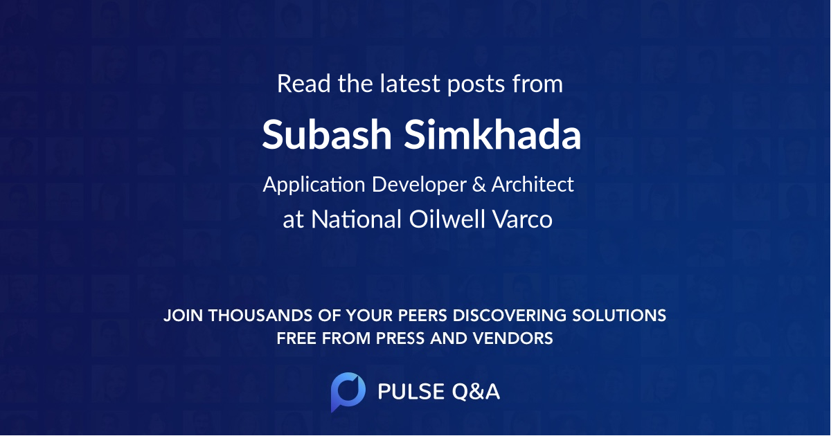 Subash Simkhada