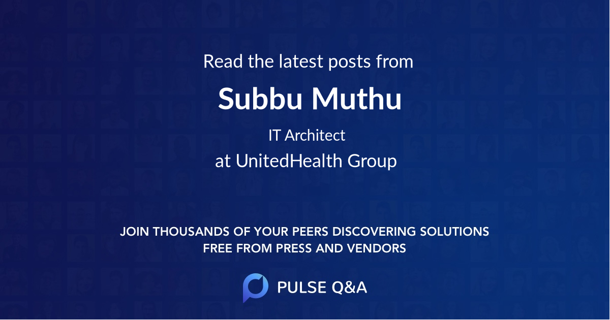Subbu Muthu