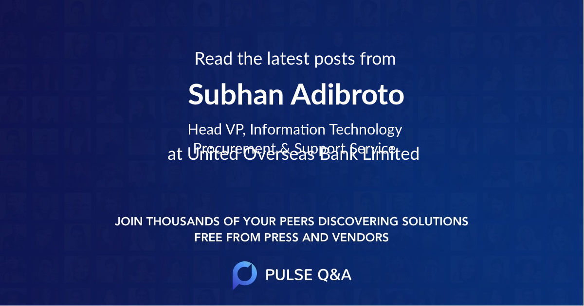 Subhan Adibroto