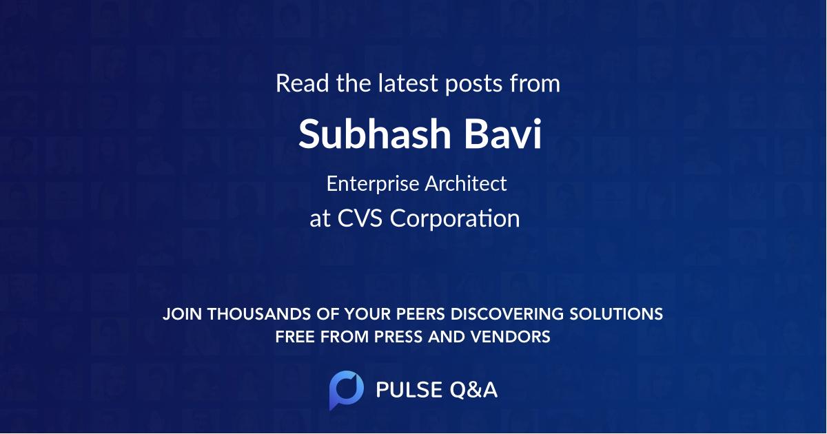 Subhash Bavi