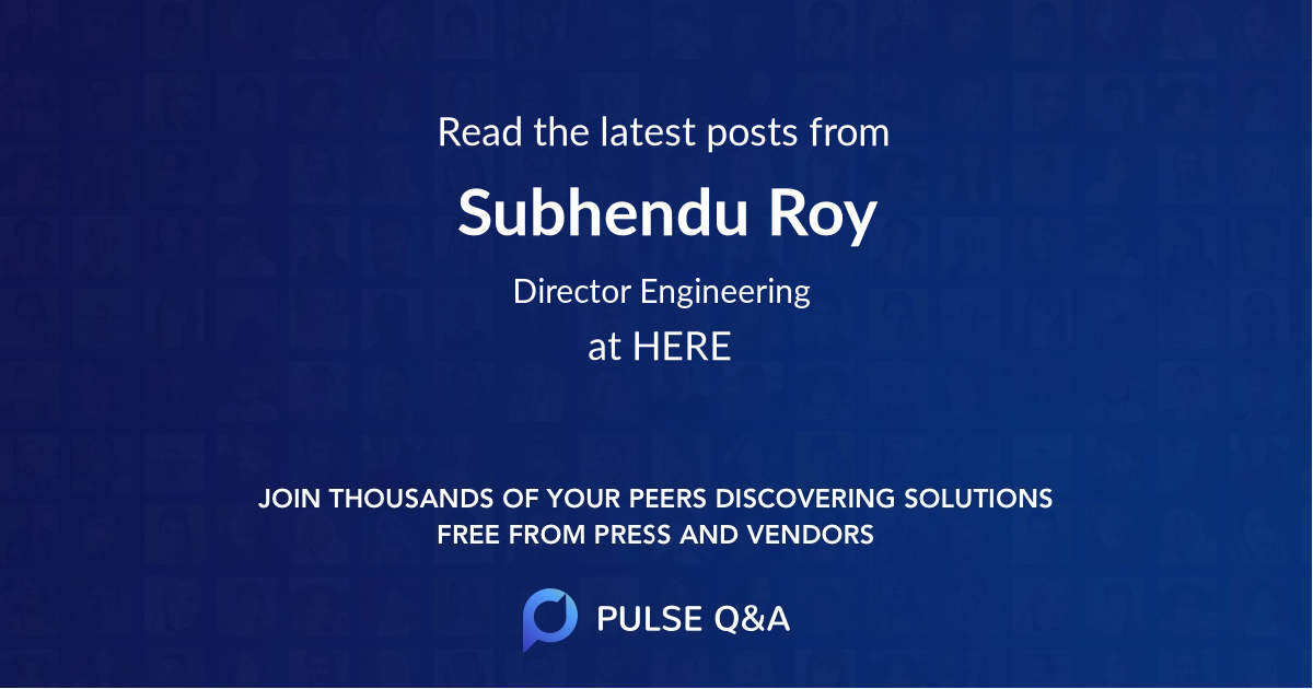 Subhendu Roy