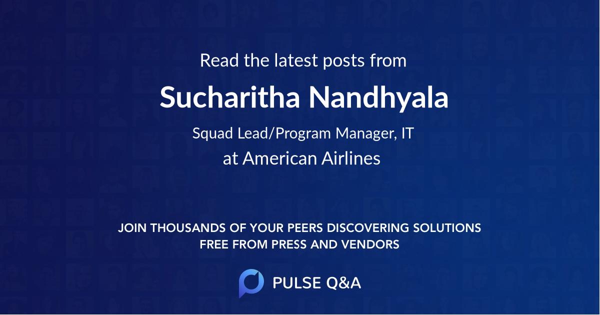 Sucharitha Nandhyala