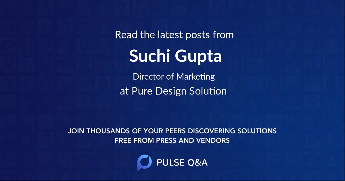 Suchi Gupta