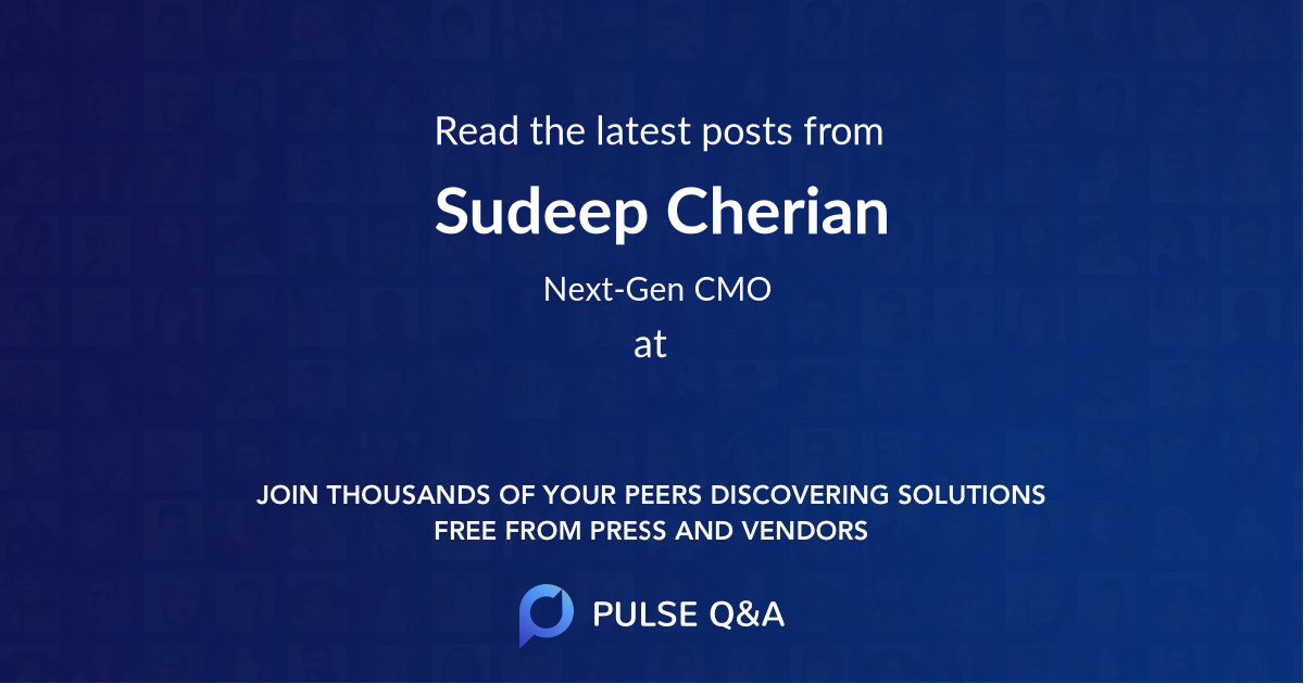 Sudeep Cherian
