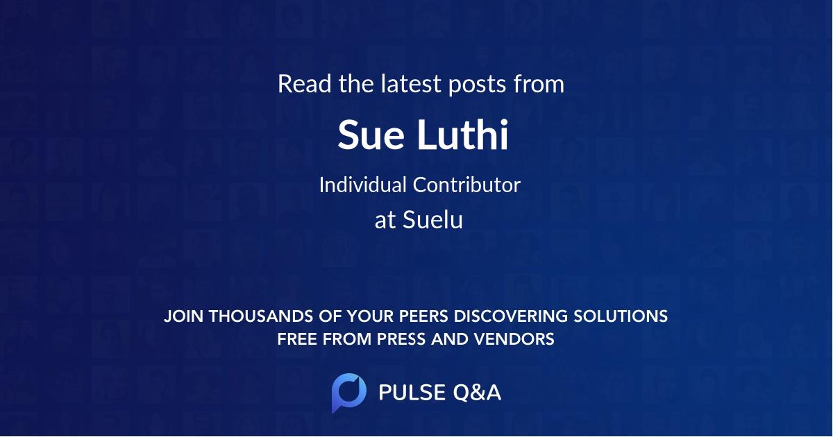 Sue Luthi