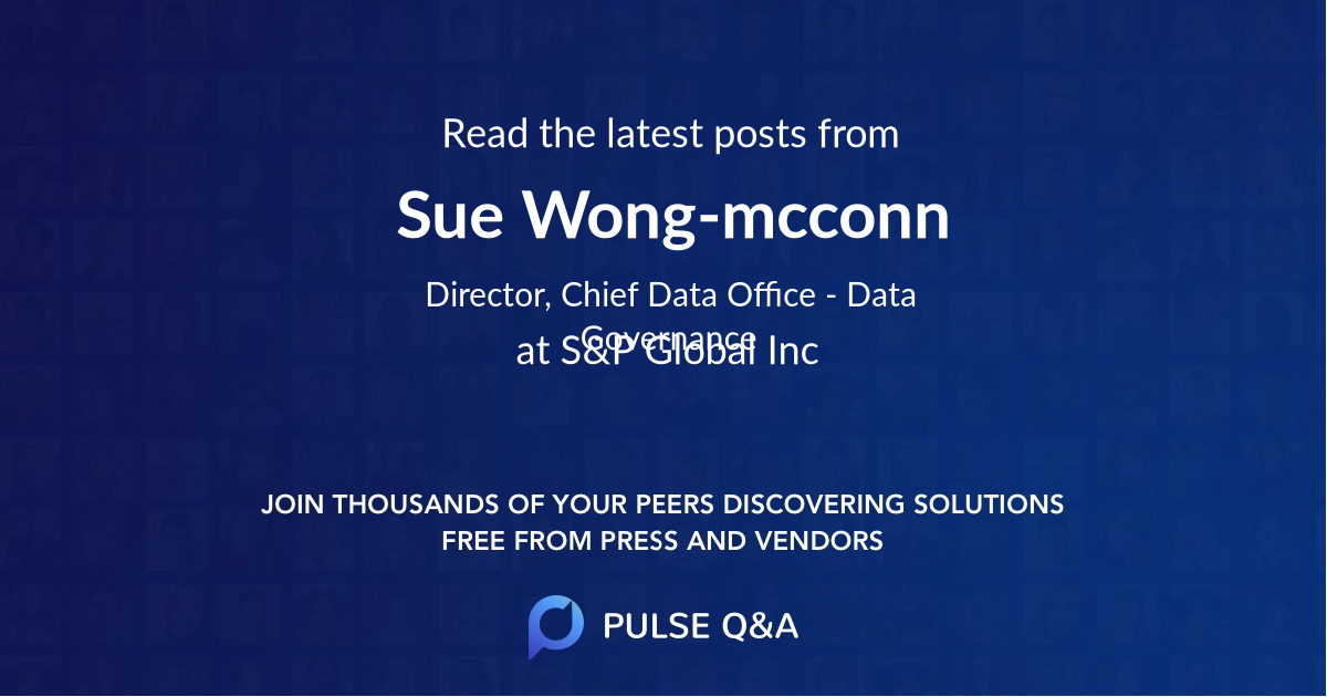 Sue Wong-mcconn