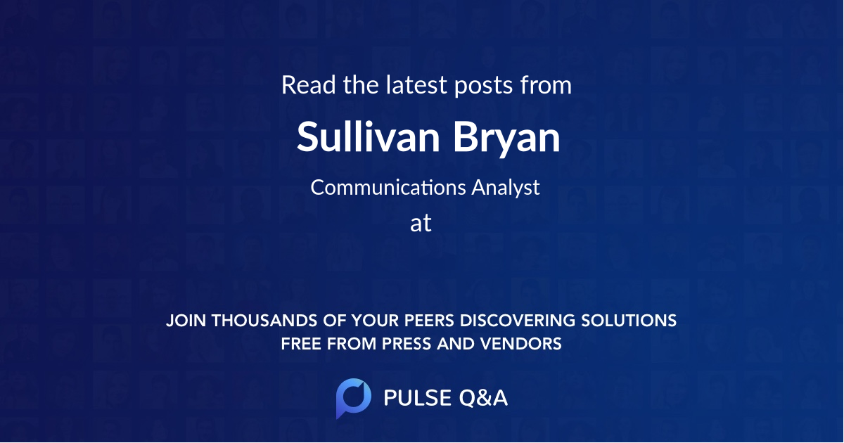 Sullivan Bryan