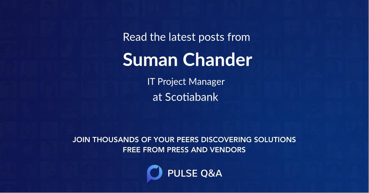 Suman Chander