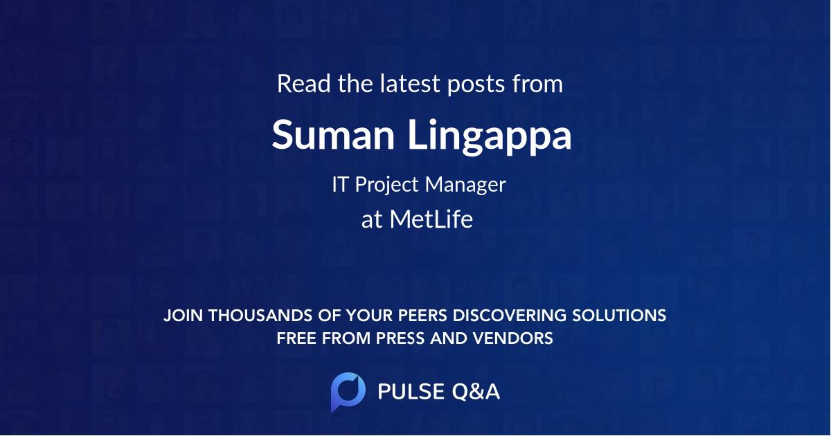 Suman Lingappa